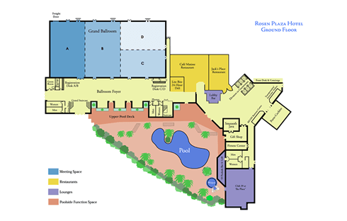 Rosen Plaza Floor Plan