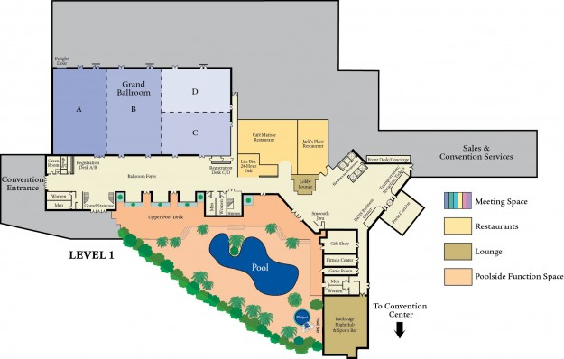 Orange County Convention Center Floor Plan: Orlando Meeting And Convention Hotel