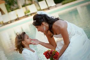 Bride & Daughter