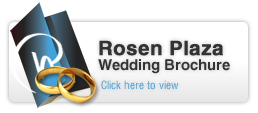 Rosen Plaza Wedding Brouchure Button