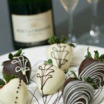 Chocolate Dipped Strawberries and Champagne or Wine