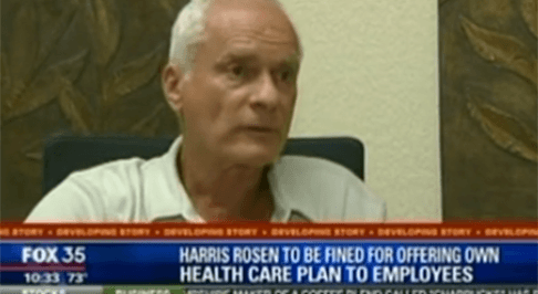 Harris Rosen and Rosen Hotels & Resorts In-House Heathcare Plan on Fox 35