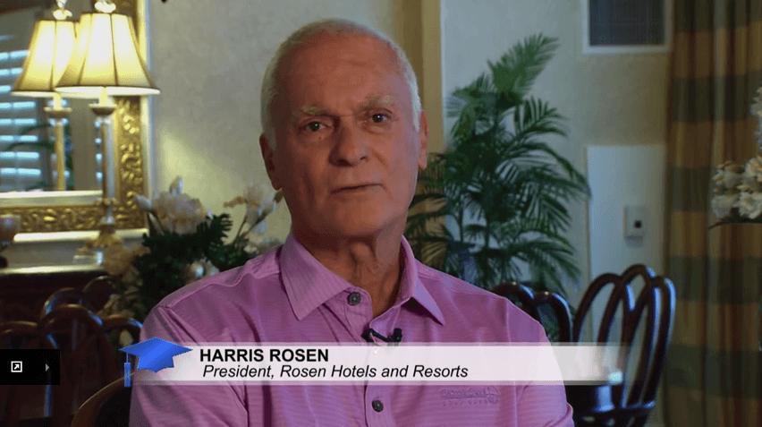 アメリカの大学院の日 2015: Harris Rosen – タンジェロパーク