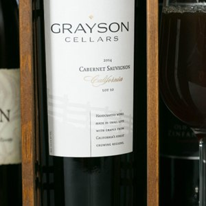 A Bottle of  Selected Wine
