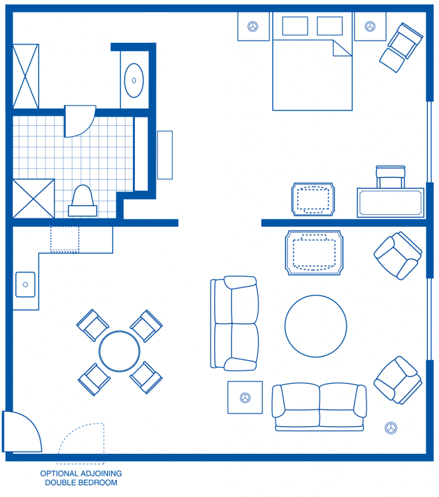 Rosen Plaza® Executive King Suite