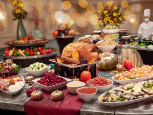 Rosen Plaza Hotel Thanksgiving Buffet