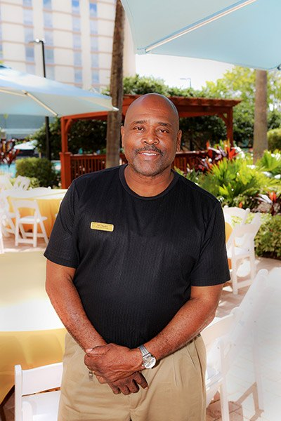 John Beauford – Banquet Set-Up Manager