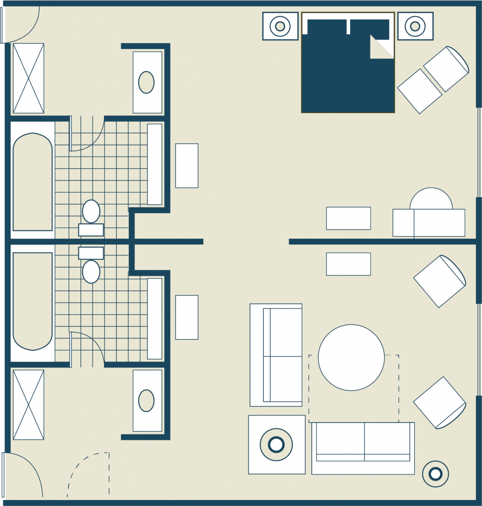 Plaza Suite Floor Plan