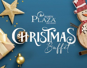 Christmas Holiday Buffet at Rosen Plaza