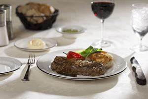 Steak Dinner at Jack's Place Restaurant