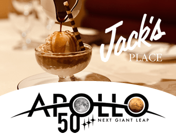 Celebrate The 50th Anniversary of The Apollo II Moon Landing at Jack's Place Offer
