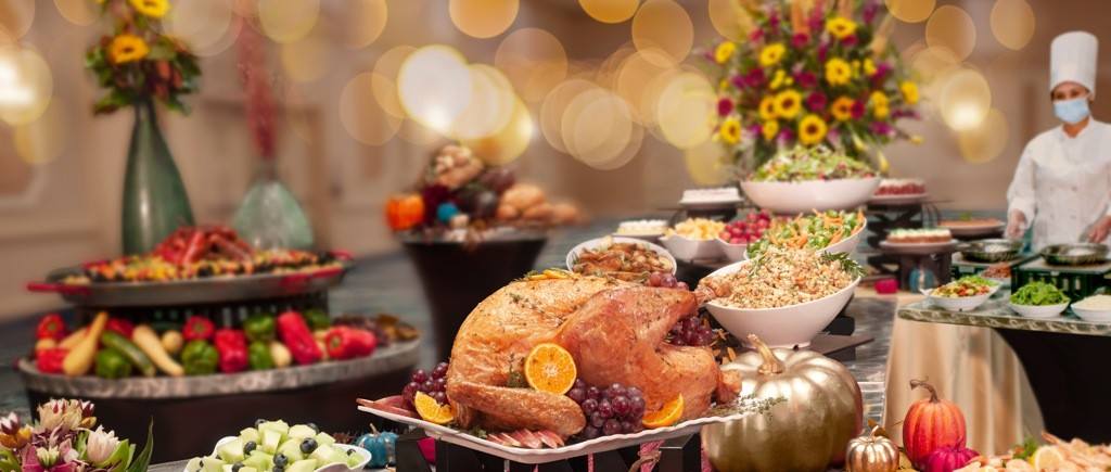 Rosen Plaza Hotel Orlando Thanksgiving Buffet