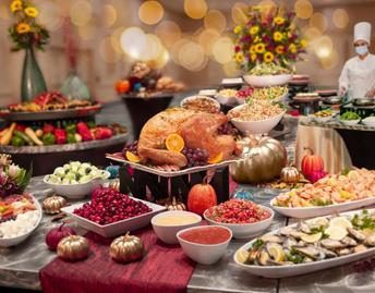 Orlando Thanksgiving Buffet at Rosen Plaza Hotel Offer