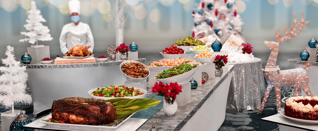 Rosen Plaza Hotel In Orlando Christmas Day Buffet