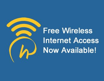Free Wireless Internet Access